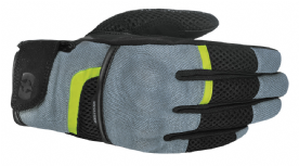 Oxford Brisbane Air Gloves Grey Black Fluo